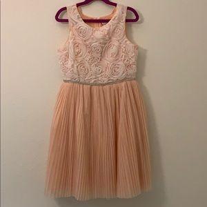 Girls Pink/ Peach Dress